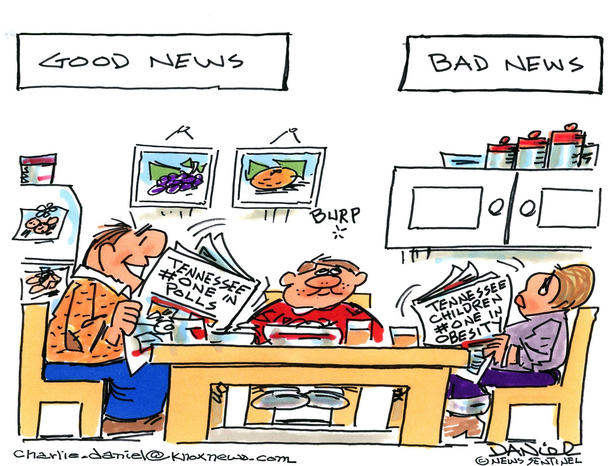 Charlie Daniel cartoon for Jan. 23, 2019