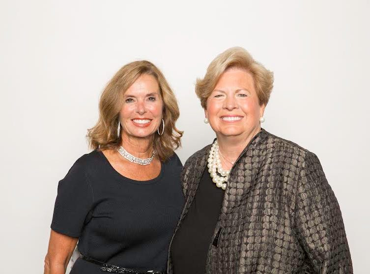 Two of the 2014 YWCA Tribute to Women honorees Susan Richardson Williams and Joan Cronan.