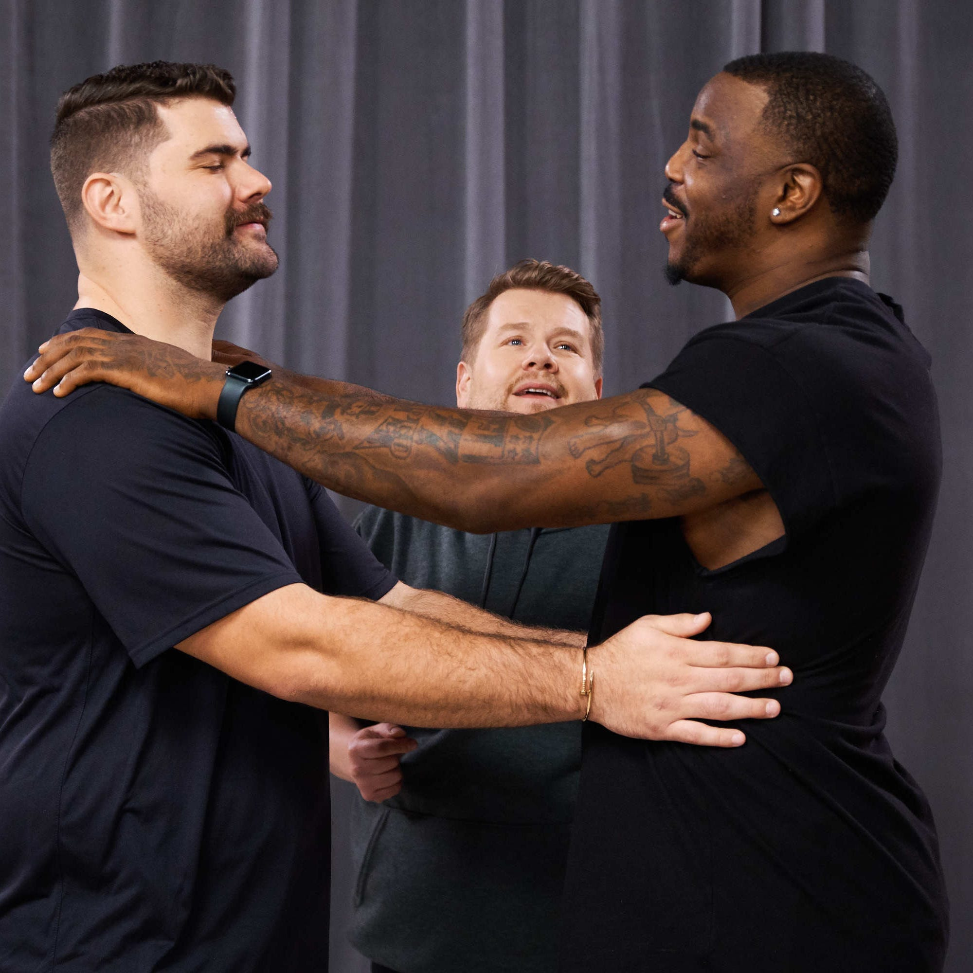 Former UT Vol Malik Jackson learns to dance on 'The Late Late Show with James Corden'