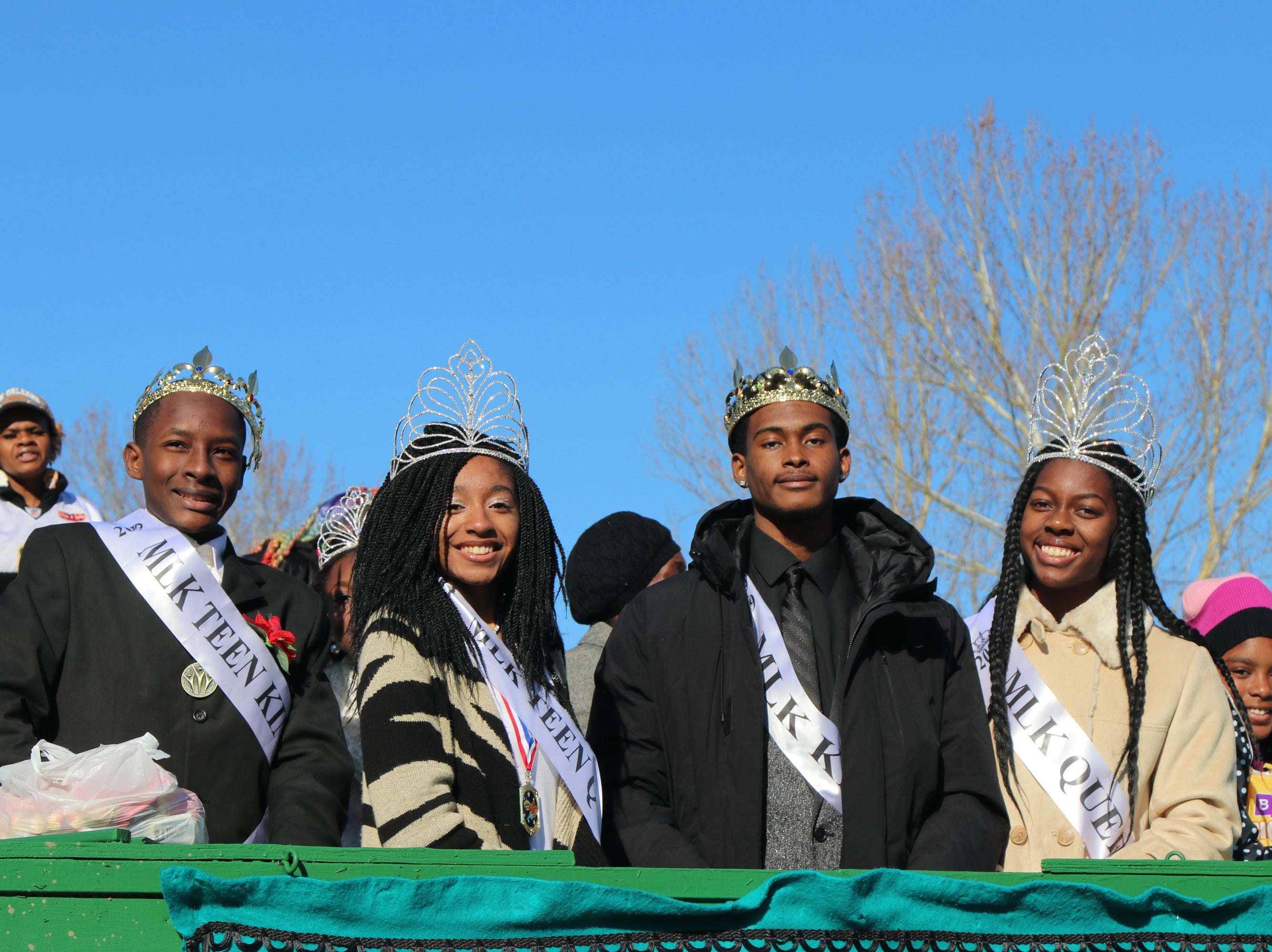 MLK Parade Royalty Sunday, Jan. 20, 2019.