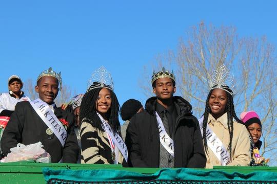 MLK Parade Royalty Sunday, Jan. 20, 2019.