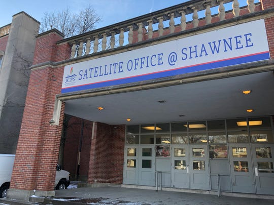 JCPS' newest satellite office is located at the Academy @ Shawnee, 4018 W. Market Street. Jan 22, 2019.