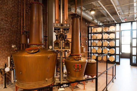 Michter's Fort Nelson Pot Still distilling system