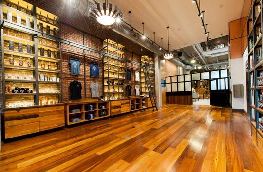 Michter's Fort Nelson Distillery's gift shop.