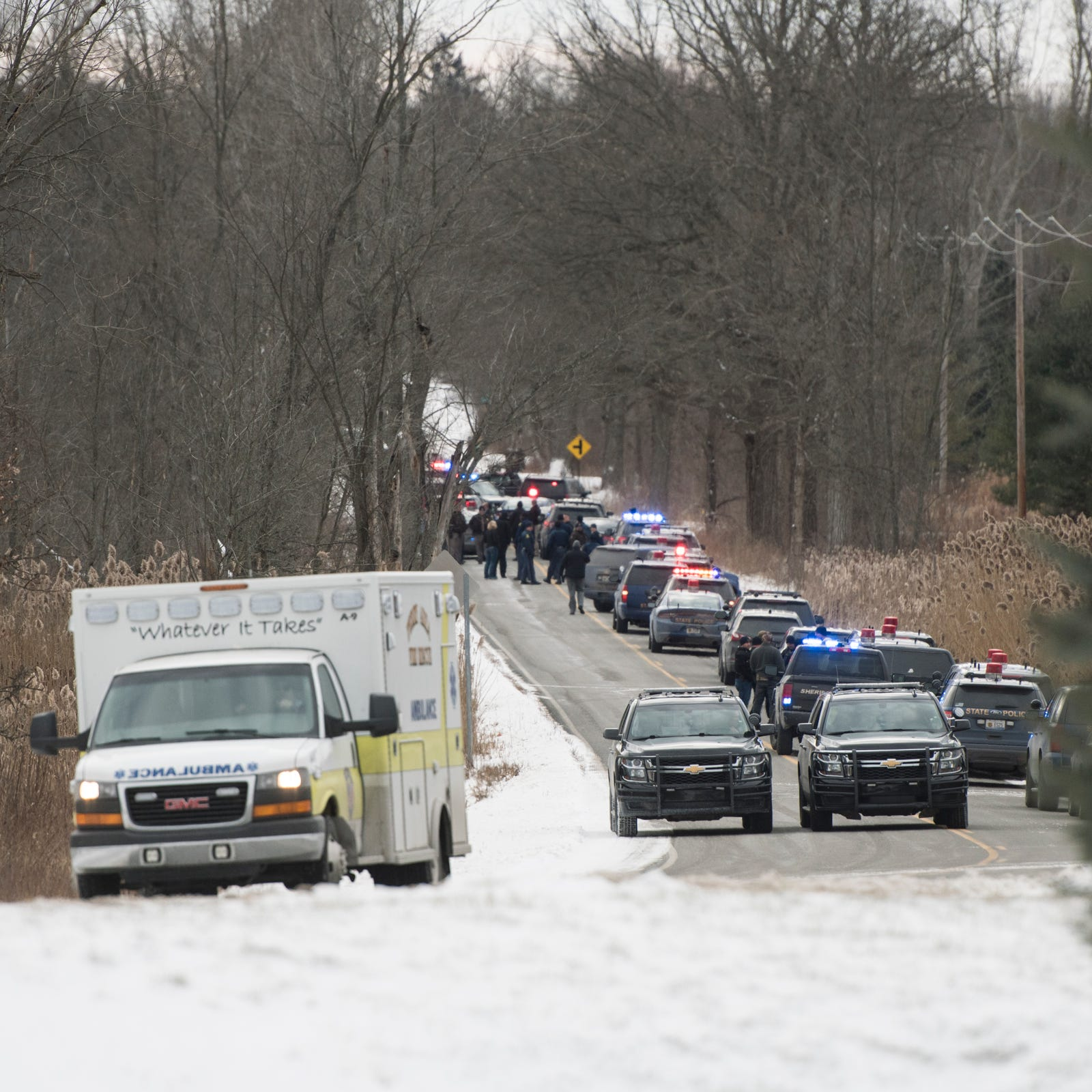 Man wanted in shooting of Saginaw Twp. police officer shot, taken into custody near Lansing