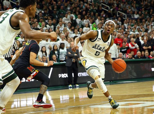 Cassius Winston is the clear frontrunner to be the Big Ten's Player of the Year.