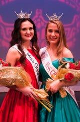 Miss Green Bay Area 2019 Kaylee Vermeern and Miss Green Bay Area's Outstanding Teen 2019 Elizabeth Black