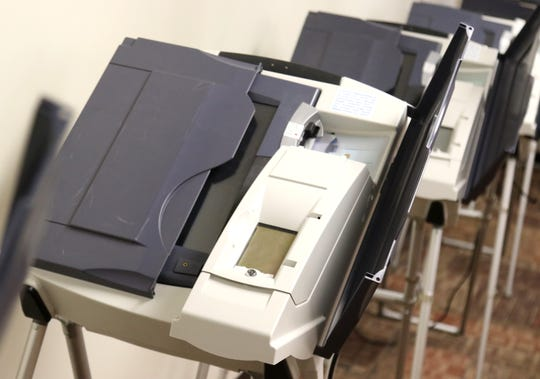These are several of the voting machines that the Richland County Board of Election is looking at replacing.
