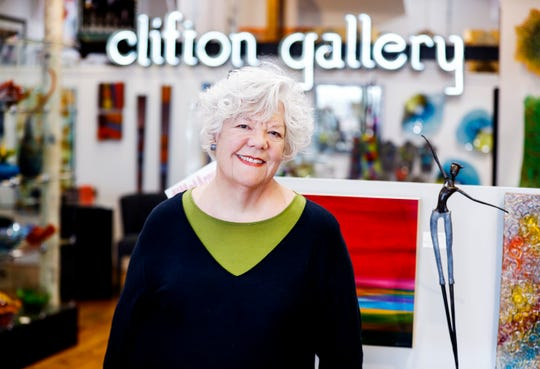 Pat Brown, co-owner of T Clifton Gallery, moved to Broad Avenue Arts District a decade ago to helped lead the charge to revitalize the neighborhood.