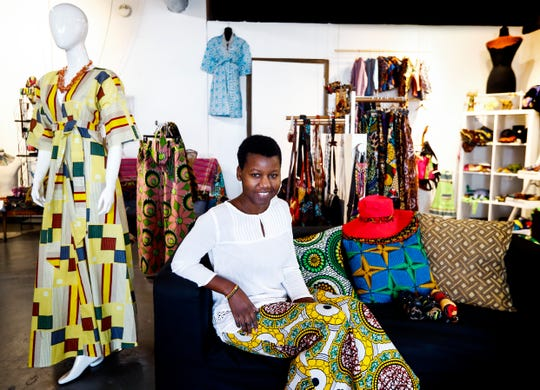 Mbabazi House of Style owner Grace Byeitma, brought her African styled clothing and wears to the Broad Avenue Arts District in 2016, as the neighborhood continues its decade old move towards revitalization.