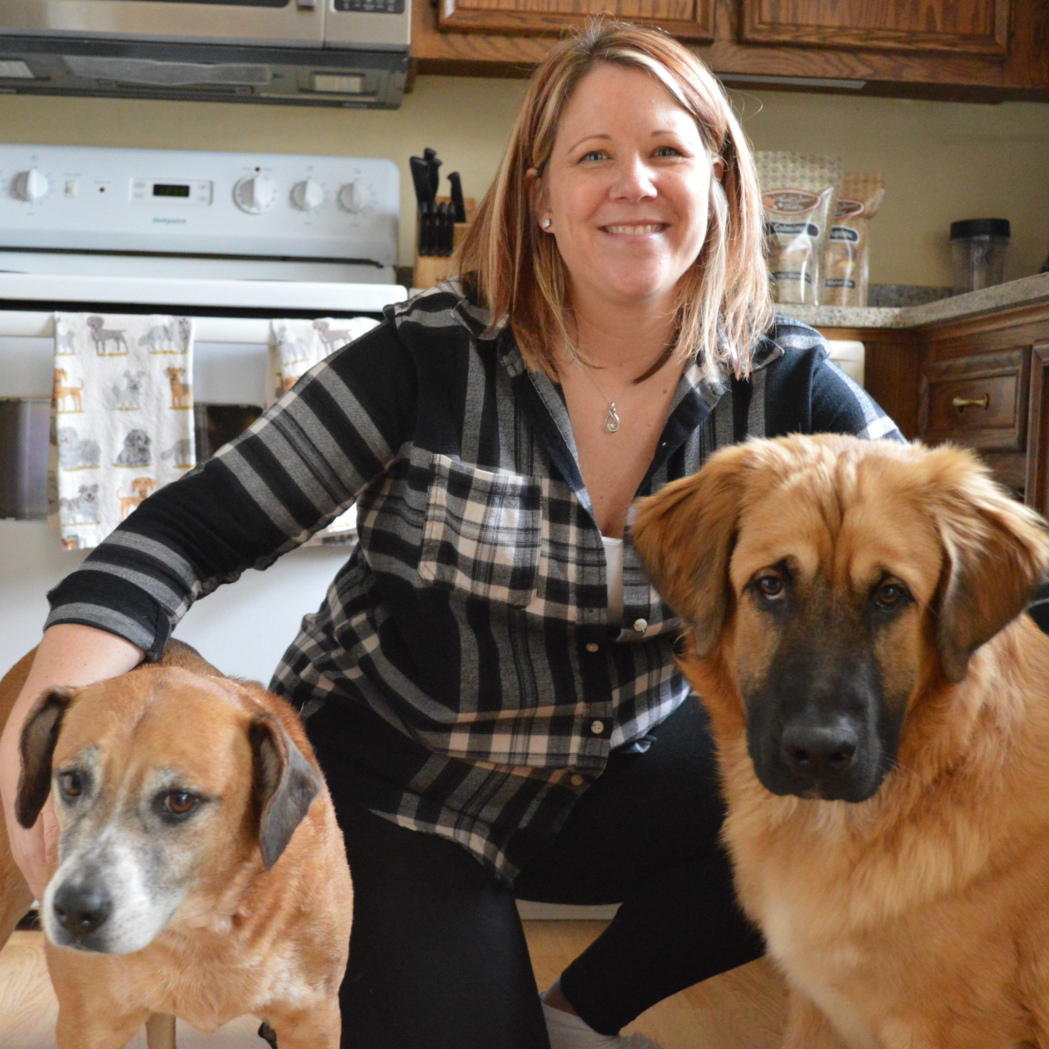 "Franklin dog-lover creates dog-treat Barkery business after baking some for her dog ""nephews"""