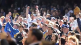 The sights and sounds from Miller Park as the players and fans get ready for opening day.