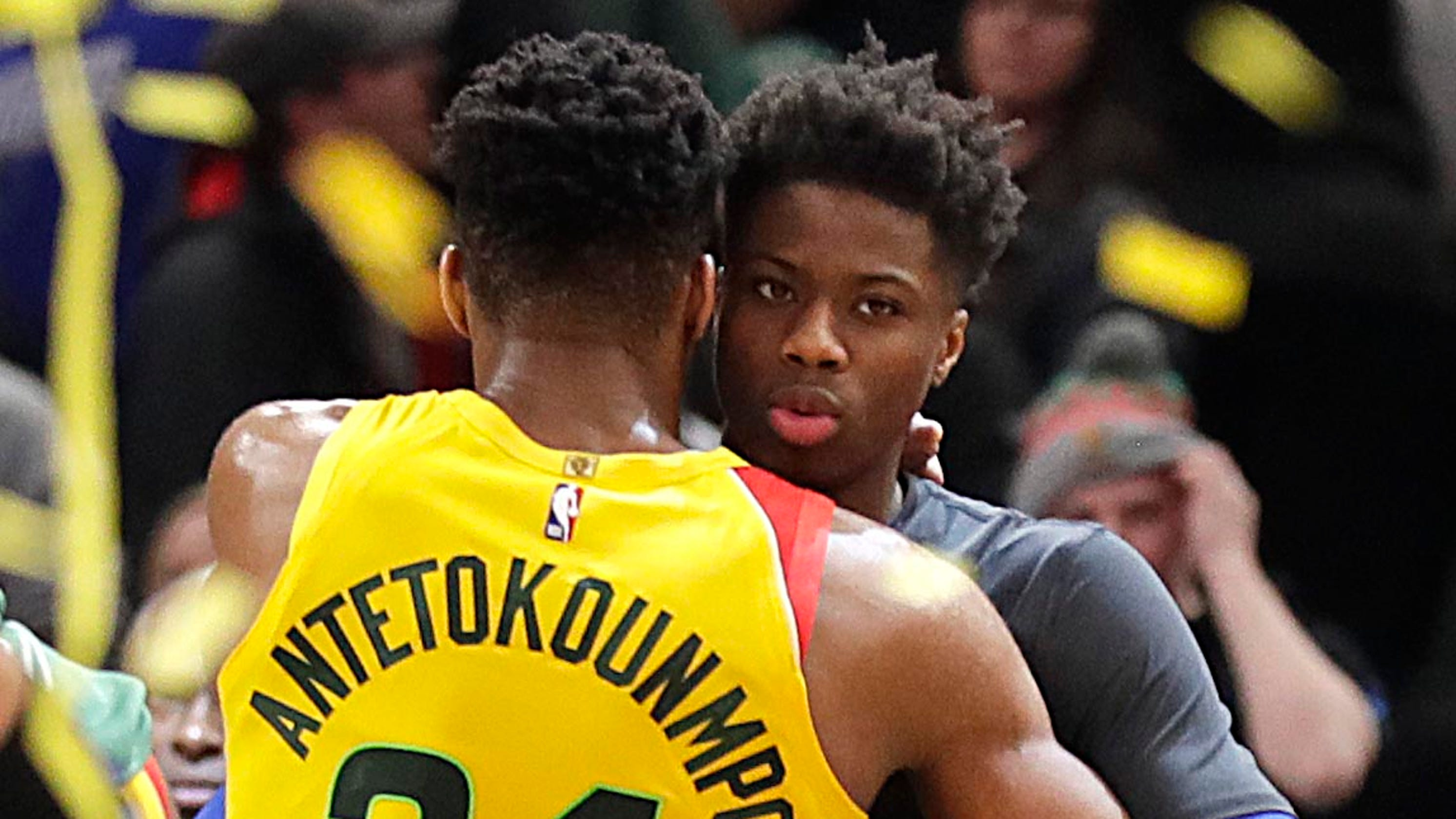 Kostas Antetokounmpo signs with Lakers, L.A. fans hoping for Giannis