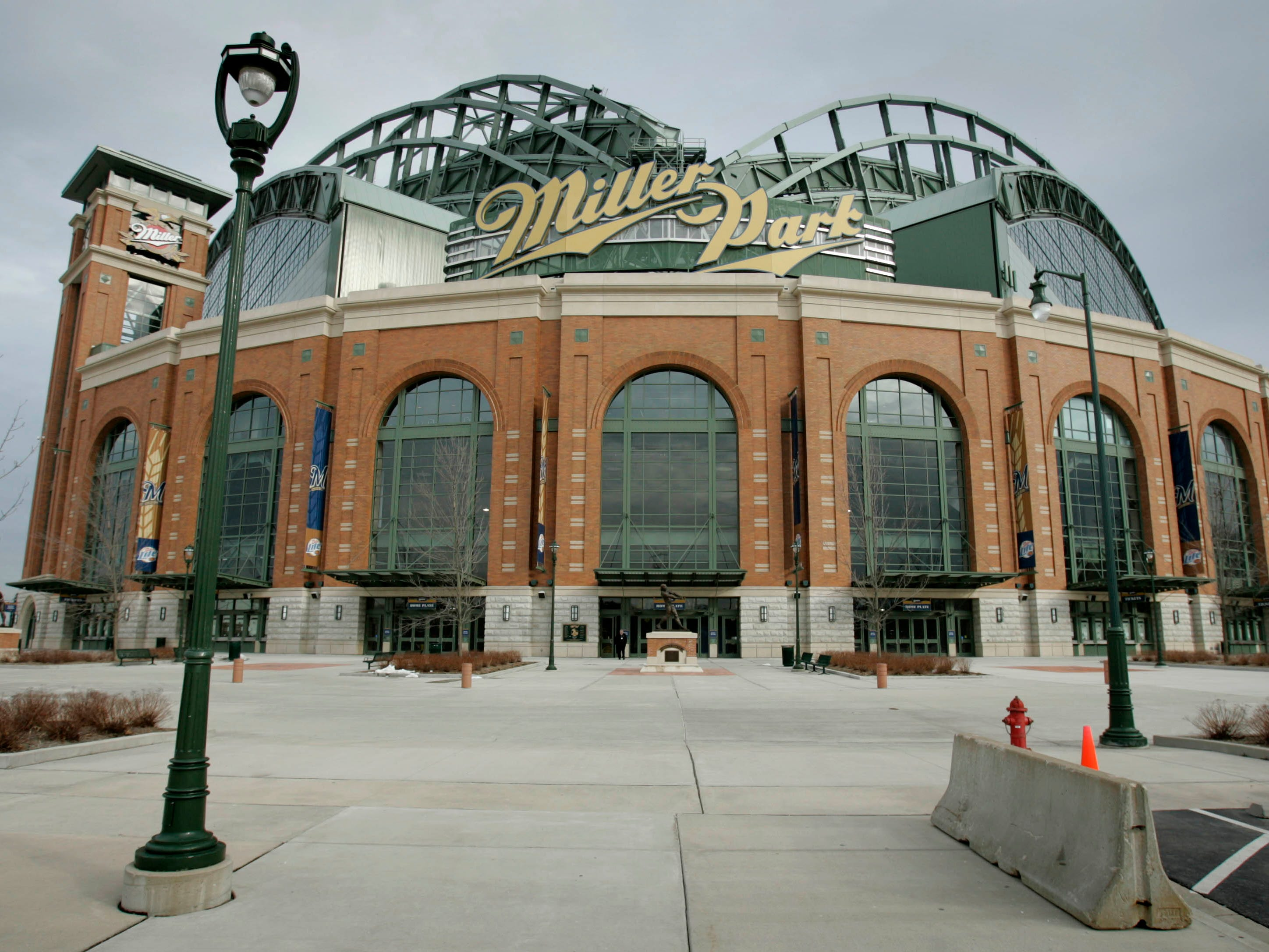Miller Park became an instant Milwaukee landmark after replacing its predecessor Milwaukee County Stadium.