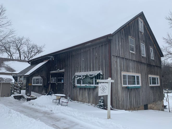 The Bee's Knees Homestead is located in a two-story barn in Stonewood Village in Brookfield.