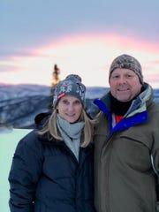 Ron and Cindy Mason treked to Fairbanks, Alaska to see the Northern Lights.