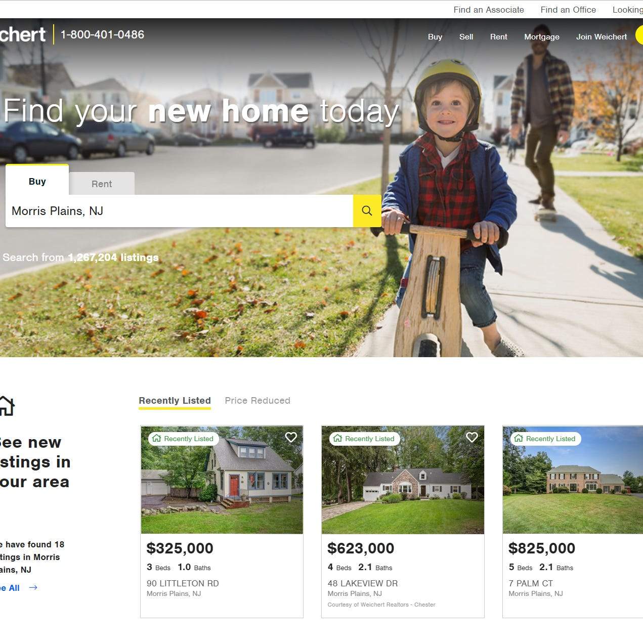 Weichert announces redesign of Weichert.com for enhanced customer experience