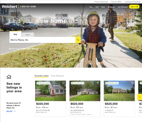 Weichert, Realtors has announced the first phase launch of the redesign of Weichert.com.