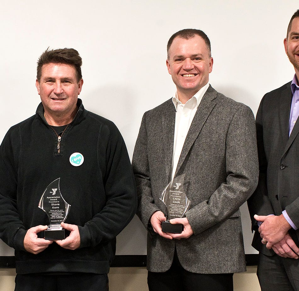 Friends and Neighbors: Five YMCA board members honored for service