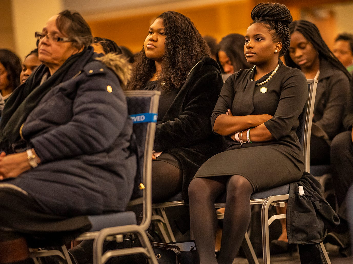 The Eta Psi chapter of Alpha Kappa Alpha Sorority Inc. at MTSU organized the 2019 Martin Luther King Jr. Day Vigil and Celebration. The event was held Monday, Jan. 21, 2019 at the Student Union Building.