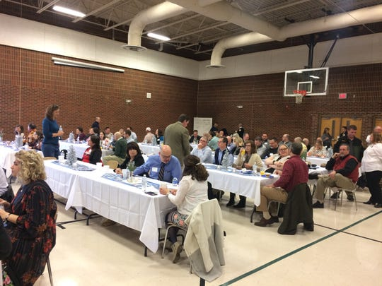 More than 100 attended the first annual State of the District breakfast at Cheatham Middle School on Tuesday, Jan. 22.