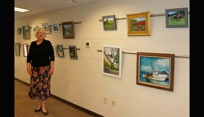 Jackie Mickler is excited to announce the Fairview Arts Council's first-ever show, which opens at the Fairview Library Feb. 2.