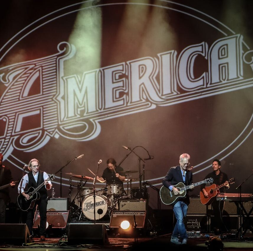 America brings 'Horse With No Name,' other hits to Bonita