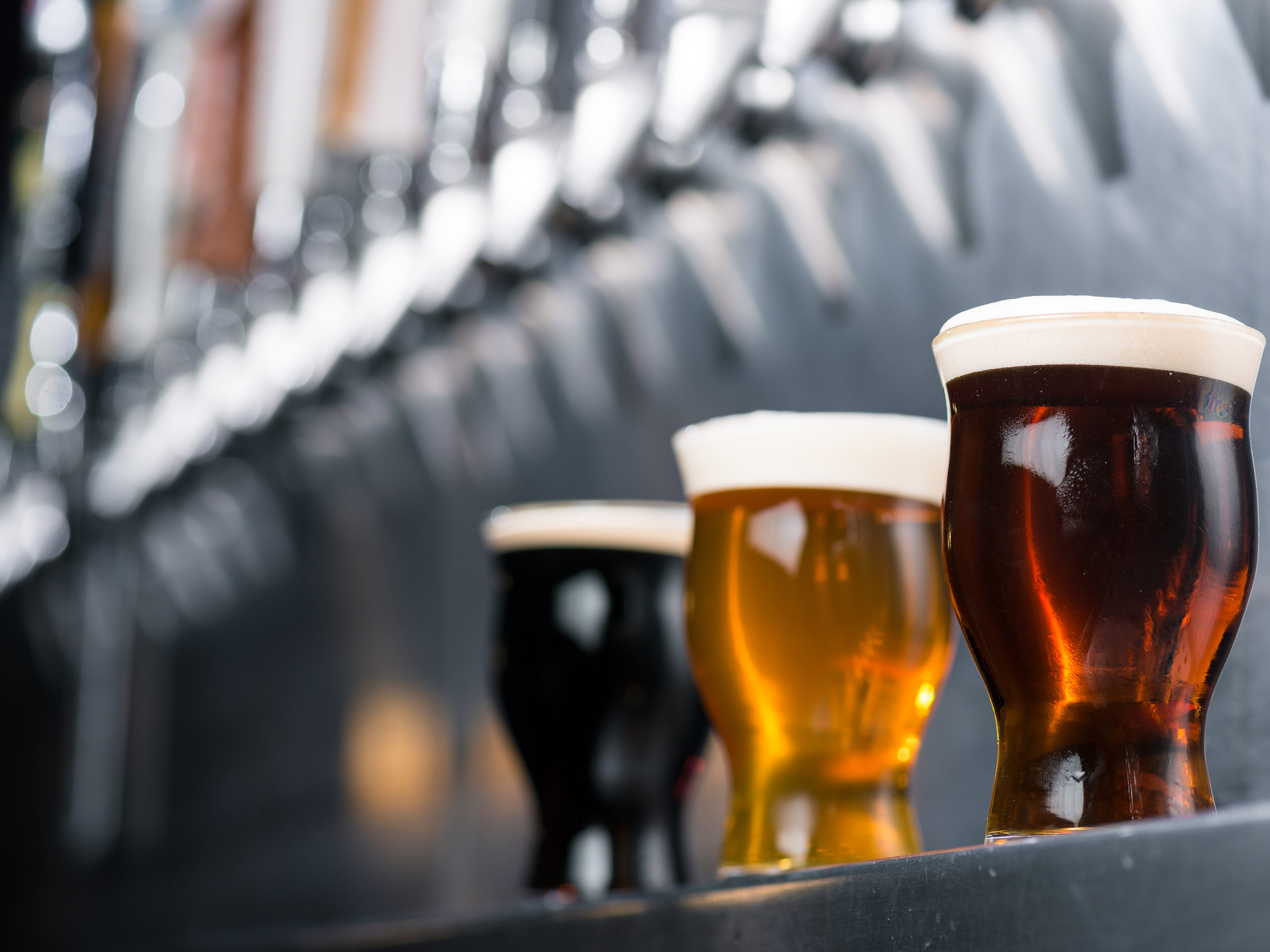 """The Yard House restaurant concept promotes itself as the """"world's largest selection of draft beer."""""""