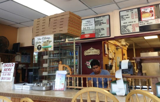 A July 2014 photo at Morvela's pizzeria in East Naples.