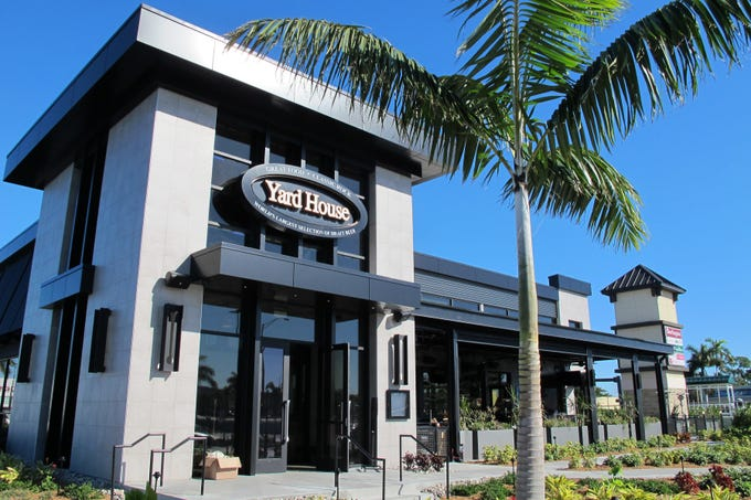 Yard House restaurant launched its first Southwest Florida location Monday, Jan. 21, 2019, at Park Shore Plaza in Naples.