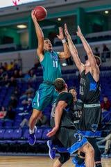 FSW sophomore Mason Daniels loves to attack the rim