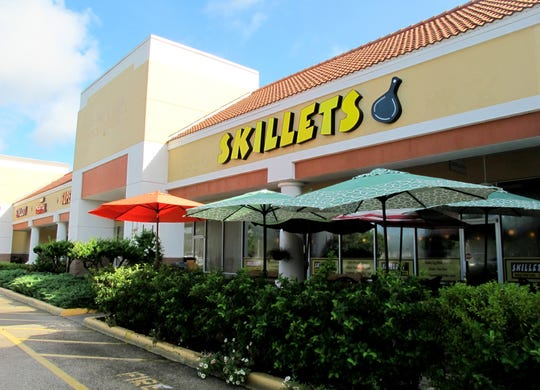 Skillets' eighth location is planned to open Friday, Jan. 25, in south Fort Myers. Shown is the location for the local breakfast-lunch chain at the Strand Shopping Center in North Naples.