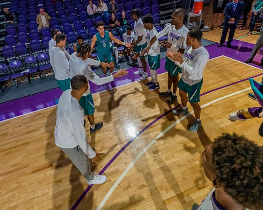 Maddox Daniels is in his second season with FSW and he's the Bucs' second-leading scorer