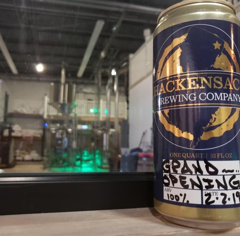 Hackensack's second brewery sets grand opening; 8 beers will be on tap