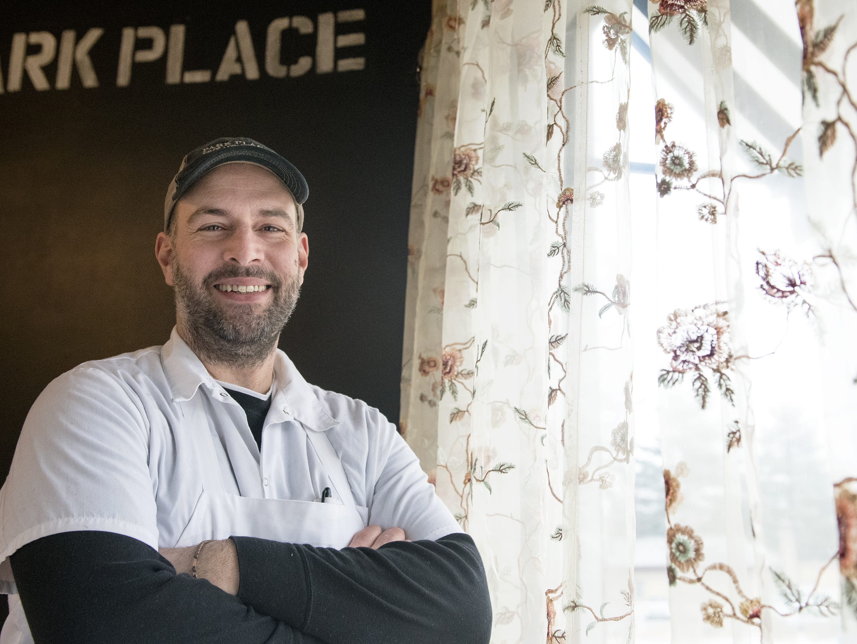 Phil Manganaro, owner/chef of Park Place Cafe & Restaurant in Merchantville,