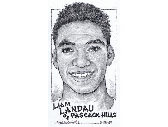 Liam Landau, Pascack Hills track and field