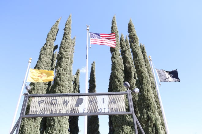 Heavy winds in Carlsbad, New Mexico.