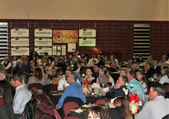 About 500 people filled the Tays Center Saturday night for the second annual Alamogordo Chamber of Commerce State of the Union Banquet.