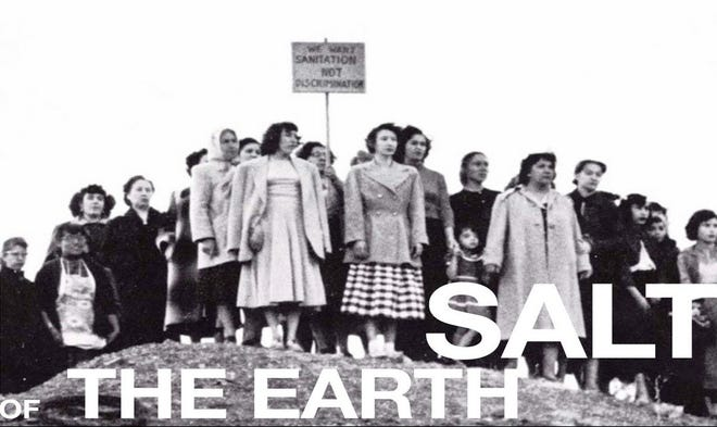 """""""Salt of the Earth"""" will play Jan. 27 in Carrizozo as part of the ENMU-Ruidoso film series."""
