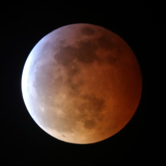 The ending of the eclipse marks the last total lunar eclipse until May 26, 2021.