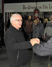 Paul Soucy was surprised as anybody when he arrived last Saturday night at the Dynamic Boxing Club as well wishers celebrated his 80th birthday.