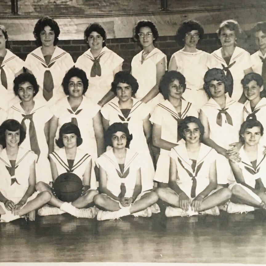Picture from the past: 1960 A.I.C. girl's 7th and 8th grade basketball team