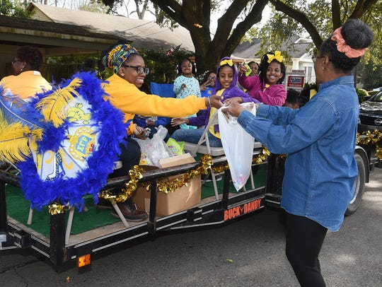 It was a day of celebration as Opelousas residents celebrated the birthday of Dr. Martin Luther King, Jr. with a parade and memoriam service at Holy Ghost Catholic Church. The annual event is organized by Rebecca Henry.