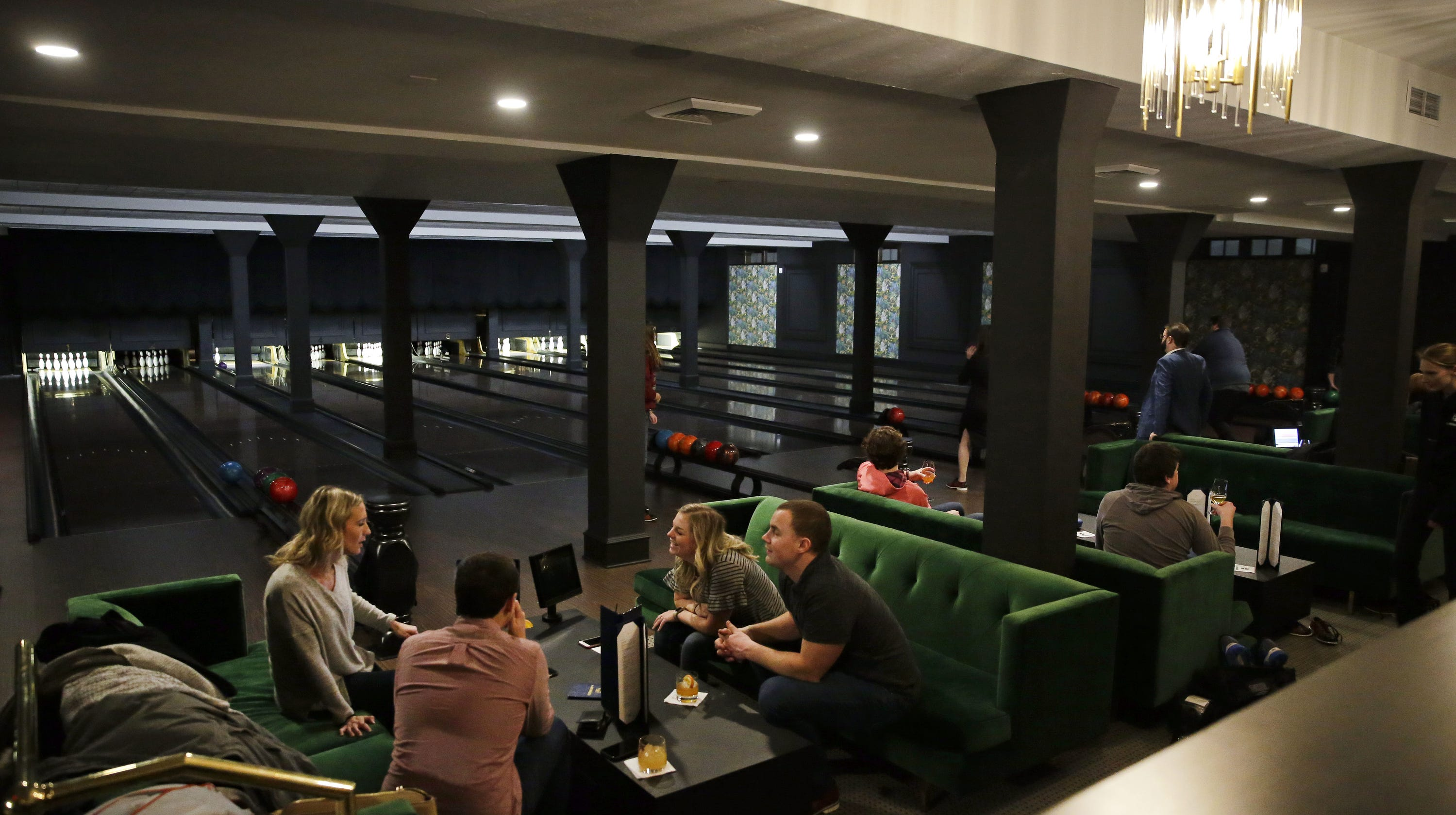 The Howard opens its bowling alley - The Lanes