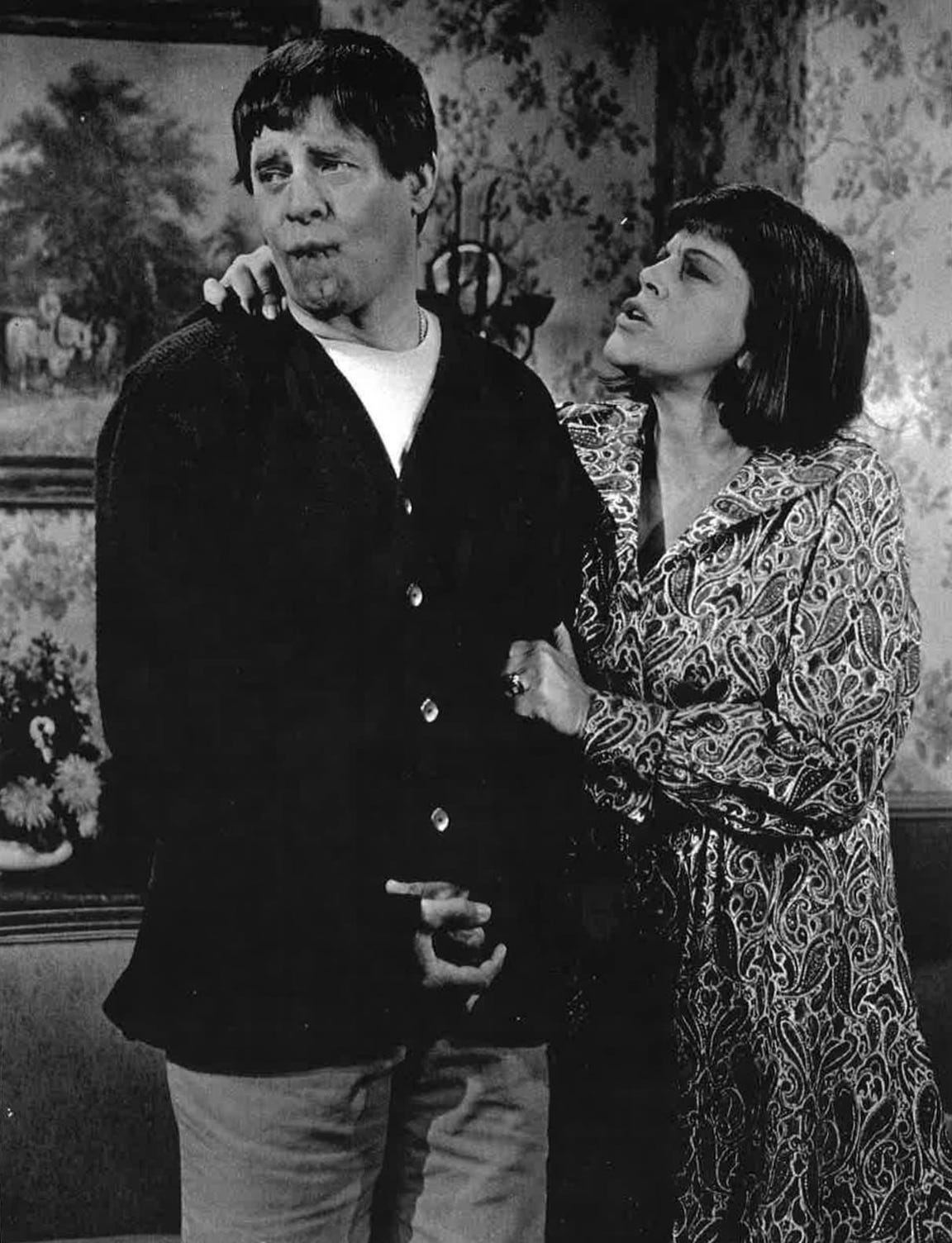 "Kaye Ballard was featured in the 1970 Jerry Lewis comedy, ""Which Way to the Front?"""