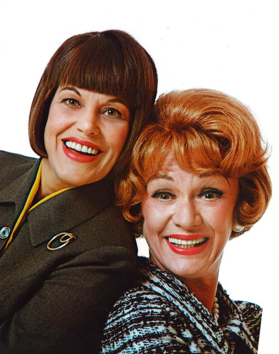 "Kaye Ballard (left) starred with Eve Arden in the late 1960s sit-com, ""The Mothers-In-Law."""