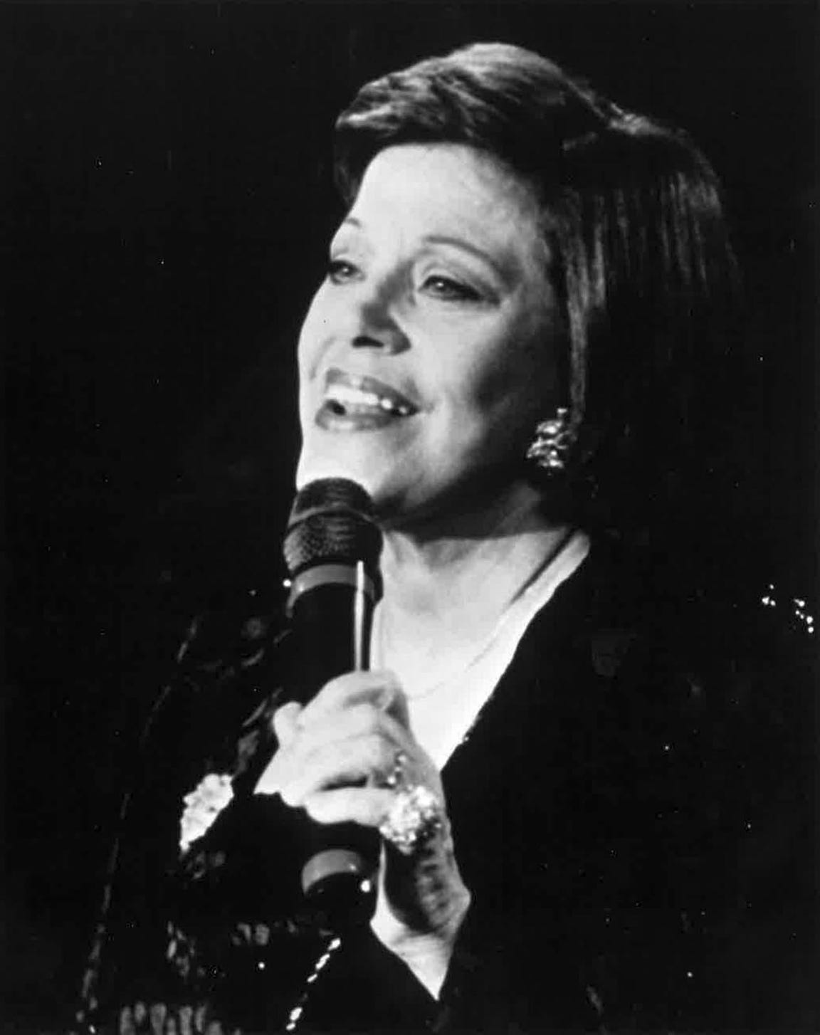 Kaye Ballard was known primarily as a comic, but she sang in top theaters and  supper clubs around the world, as well as many Las Vegas engagements.