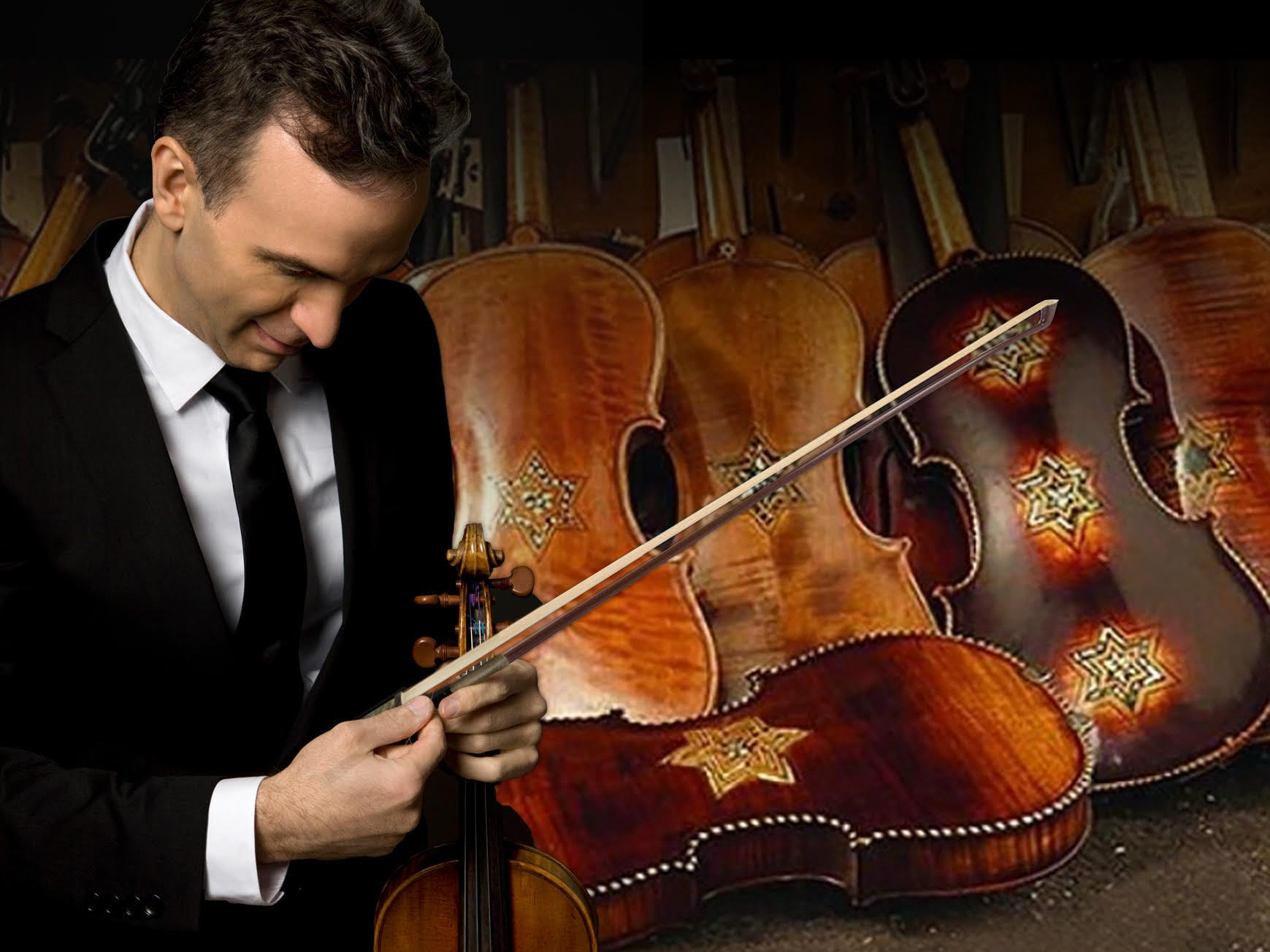 Gil Shaham in 'Violins of Hope' performed with instruments rescued from the Holocaust