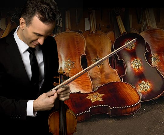 "Gil Shaham performs ""Violins of Hope"" Feb. 23-24 in Scottsdale with the Arizona Musicfest Orchestra."