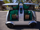An autonomous Nuro vehicle demonstrates a delivery on Tuesday, Jan. 22, 2019, in Scottsdale, Ariz. Nuro has partnered with Fry's Food Stores to use the robot vehicles to deliver groceries in Scottsdale.